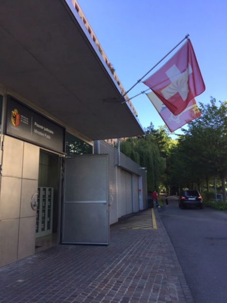 Fiscalía suiza