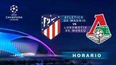 Atlético de Madrid – Lokomotiv de Moscú: jornada 6 de la fase de grupos de la Champions League.