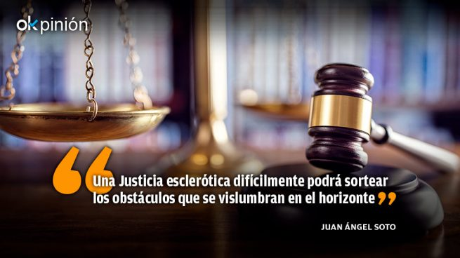 Una Justicia poco eficiente para la crisis