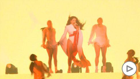 Rosalía conquista Madrid en el último concierto de su gira 'El Mal Querer'