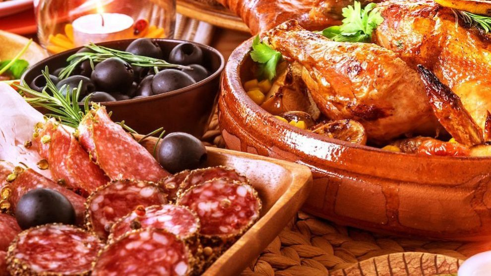 5 comidas de Navidad típicas en España
