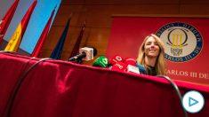 Cayetana Álvarez de Toledo, hoy, en la Universidad Carlos III.