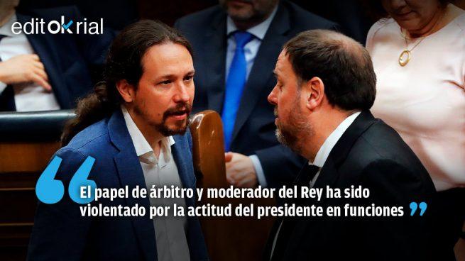 Pedro Sánchez, todo un ejemplo de indecencia política