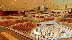 Una imagen del auditorio principal de la Filarmónica de Berlín.