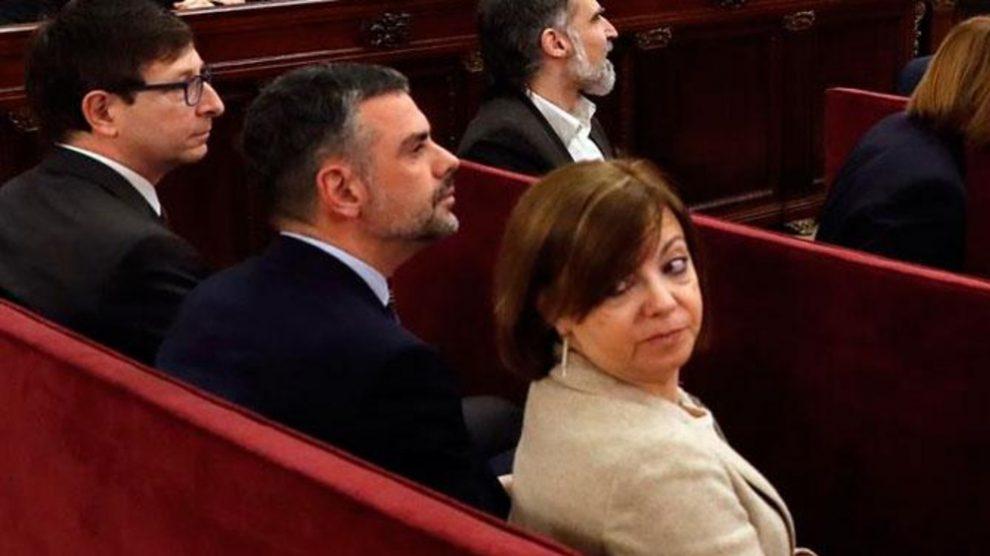Santiago Vila, Carles Mundó y Mertitxell Borrás