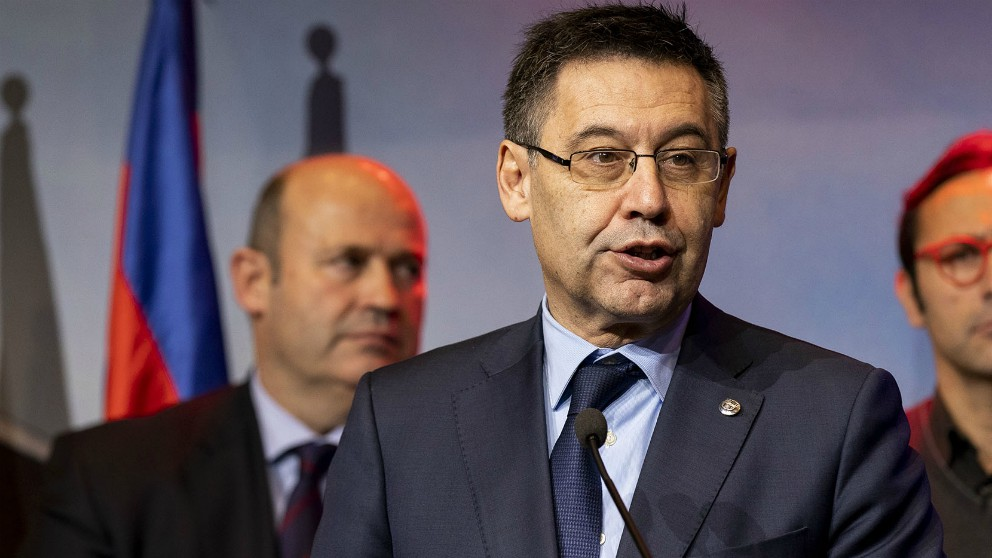 Josep María Bartomeu. (@fcbarcelona_es)