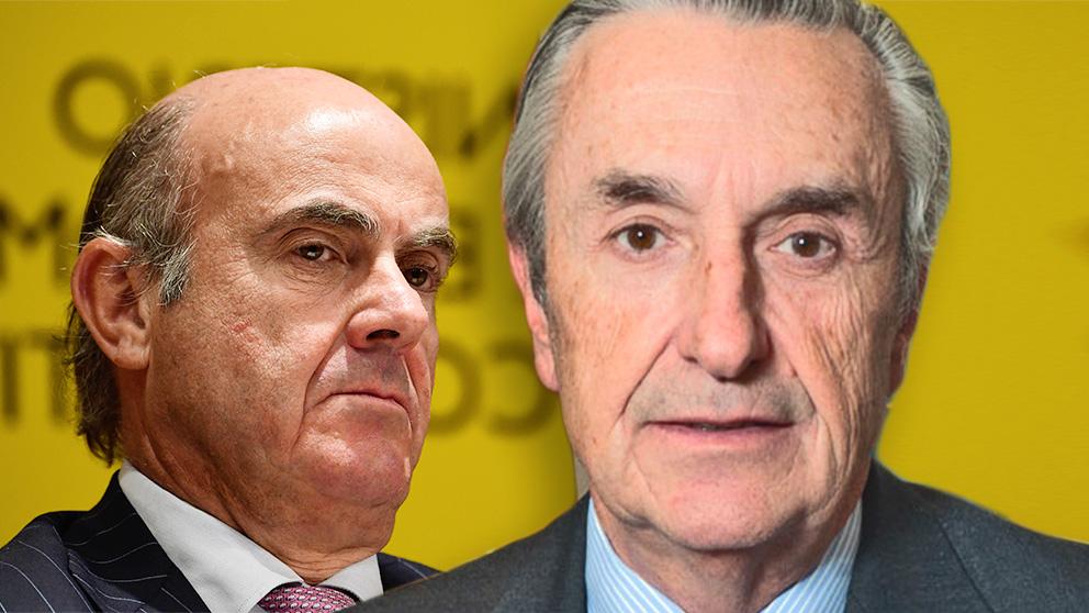 Luis de Guindos y José María Marín Quemada.