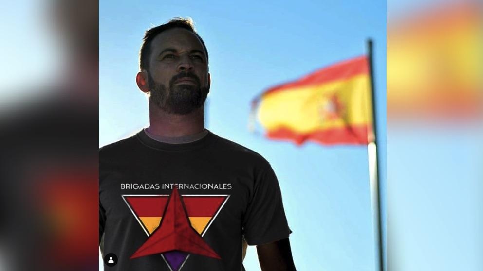 Imagen compartida por la marca de ropa que fundó el dircom de Podemos.