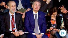 José Luis Rodríguez Zapatero, hoy, en la Cumbre del Clima. (Efe)