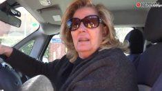 Madre de Malú en el coche