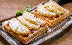 Receta de milhojas de piña con queso