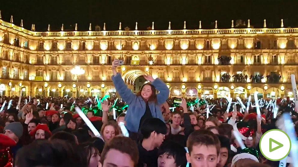 Salamanca celebra el Fin de Año Universitario.