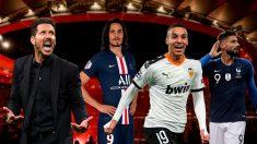 El entrenador del Atlético de Madrid ha pedido un delantero para Reyes.