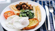 La energía y nutrientes al desayunar