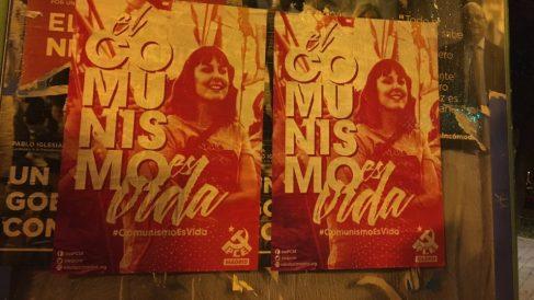 Carteles de la campaña «Comunismo es vida».