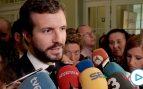 Casado: «Sánchez lleva cuatro semanas blanqueando el acuerdo firmado con Iglesias»