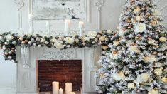 Los árboles de Navidad blancos son tendencia este año