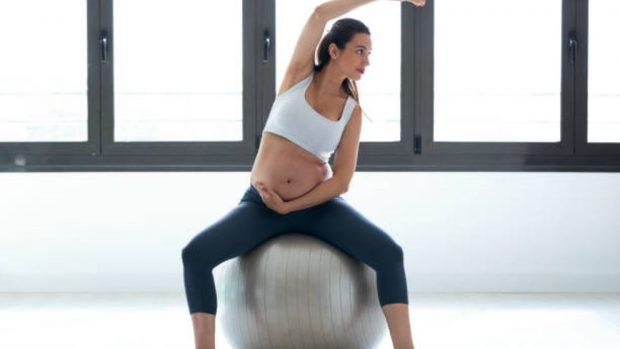Ejercicios de pilates durante el embarazo