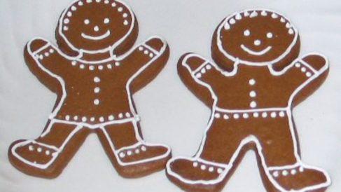 Cómo son las galletas de jengibre de Navidad