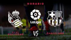 Real Sociedad – Barcelona: jornada 17 de la Liga Santander.