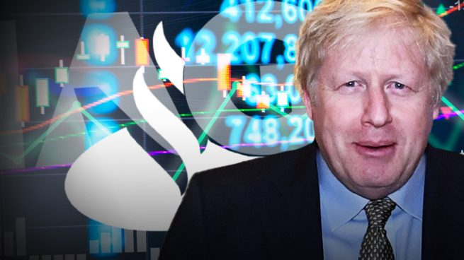 IAG y Santander celebran la victoria de Johnson en Reino Unido y se disparan en Bolsa