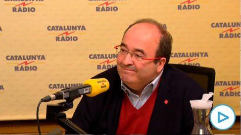 Miquel Iceta y Pedro Sánchez. (Foto: EFE)