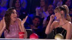 Paz Padilla en la última semifinal de 'Got Talent'