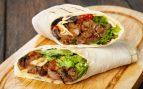 Burritos de carne picada y champiñones