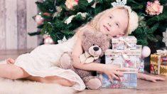 La moda infantil también tiene mucha importancia en Navidad