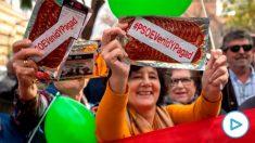 Imagen de la manifestación de Vox en Andalucía. Foto: EP