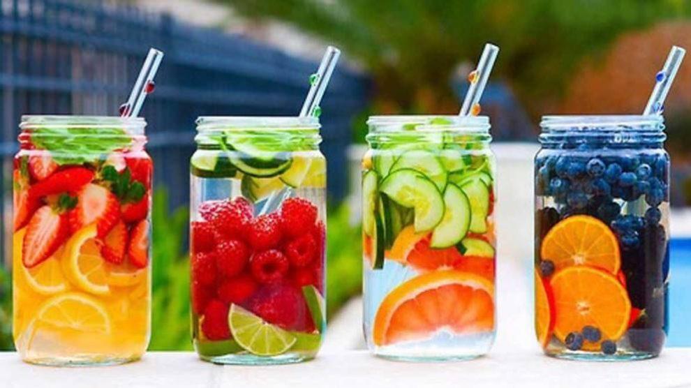 El agua de frutas es una de las bebidas más saludables