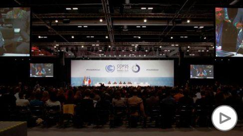 Imagen del plenario de la cumbre del clima COP25. (Foto. UN)