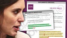 Documentos escoltas modificados