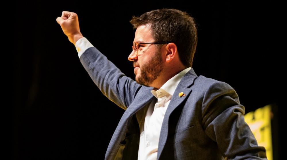 El vicepresident de la Generalitat, Pere Aragonès. (Foto: EP)