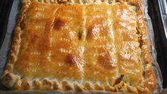 Receta de Empanada de carne picada con setas