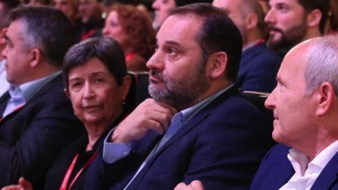 José Luis Ábalos en el congreso del PSC. (Foto: PSOE)