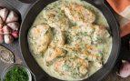 Receta de pollo a las finas hierbas con salsa de yogur
