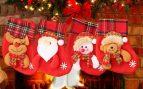calcetines en Navidad