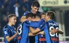 El Atalanta celebra un gol esta temporada (Getty).