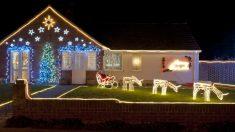 Los jardines son perfectos para decorar en Navidad