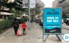 Colau permite que 'Tsunami' anuncie en las marquesinas municipales el sabotaje violento al Clásico