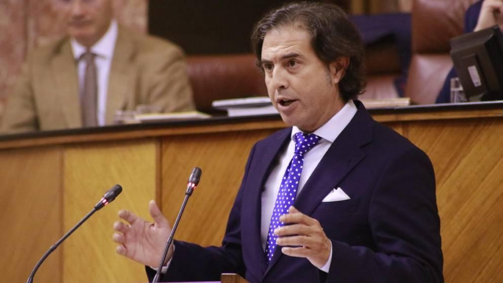 Benito Morillo, diputado Vox en Andalucía