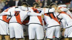 Los jugadores del Rayo Vallecano en su partido frente al Albacete (@RayoVallecano)