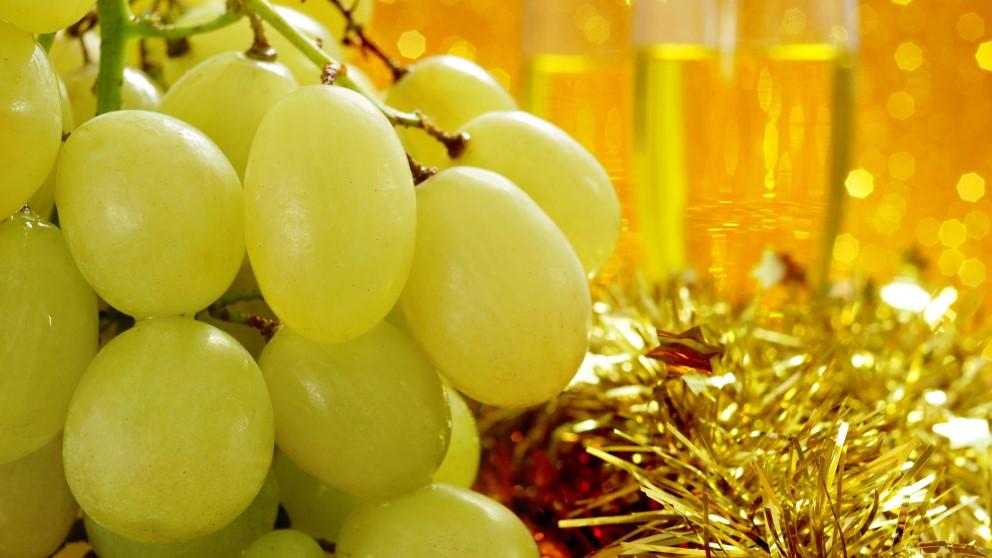 Las uvas son imprescindibles en Nochevieja… o un sustituto de ellas