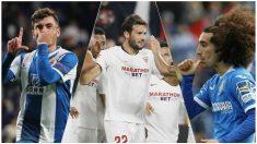 Sevilla, Espanyol y Getafe ya conocen rival en la Europa League.
