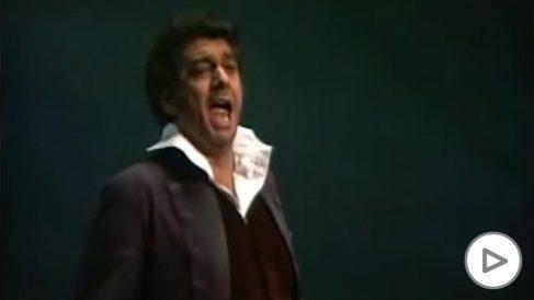 Debut de Plácido Domingo en su debut en La Scala de Milán hace 50 años.
