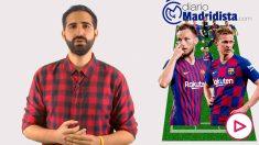 Alineación del Barcelona vs Real Madrid