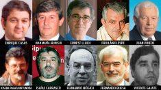 Socialistas asesinados por ETA.