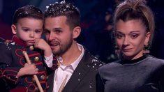Hugo y sus padres en 'Got Talent'