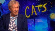 Si Ian McKellen es uno de los protagonistas de la adaptación a la gran pantalla del musical de BRoadway 'Cats'. Foto: EP